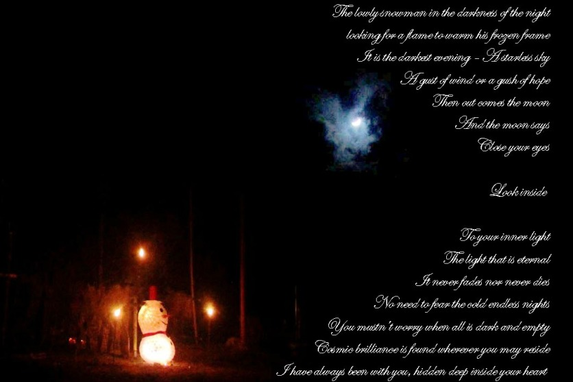 The Snowman and The Moon