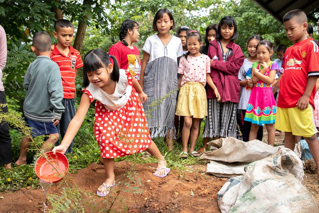 The Tree-Planting Ceremony
